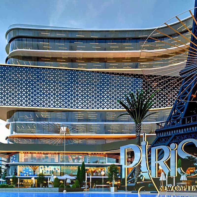 Paris East Mall – Pyramids developments